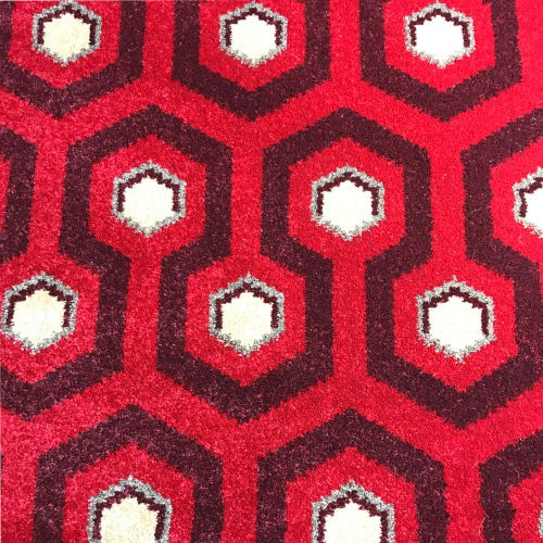 Contessa Techno Wilton Carpet, Red/Burgundy
