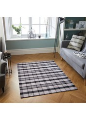 Cottage Cotton/Polyester Rug Grey 10 K