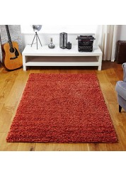 Elsa Shaggy Rug Orange