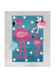 Play Days Flamingo Kids Rug 80 x 120cm