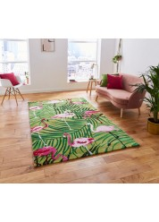 Havanna Rug, Pink Flamingo