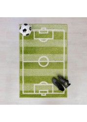 Play Days Football Kids Rug 80 x 120cm