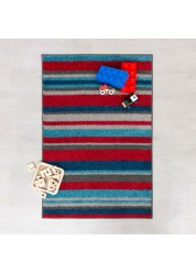 Play Days Stripes Multi Kids Rug 80 x 120cm