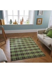Cottage Cotton/Polyester Rug Green 11 G